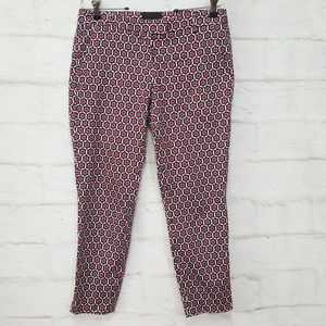 Cynthia Rowley Patterned Casual Pants Sz 6